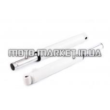 Перья вилки   Honda DIO   (барабанный тормоз)   (белые)