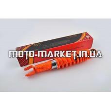 Амортизатор   GY6, DIO, LEAD   290mm, регулируемый   (оранжевый +паутина)   NDT