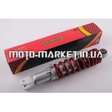 Амортизатор   GY6, DIO, TACT   275mm, регулируемый   (красный)   NDT