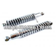 Амортизаторы (пара)   ИЖ   320mm, регулируемые, с рычагом   (хром)   EVO