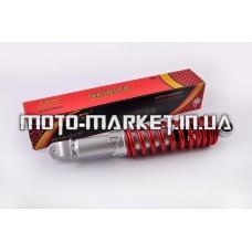 Амортизатор   GY6, DIO, TACT   275mm, регулируемый   (красный металлик)   NDT