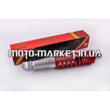 Амортизатор   GY6, DIO ZX, LEAD   320mm, регулируемый   (красный металлик)   NDT