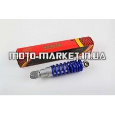 Амортизатор   GY6, DIO, TACT   275mm, регулируемый   (синий металлик)   NDT
