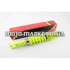 Амортизатор   GY6, DIO ZX, LEAD   320mm, регулируемый   (лимонный +паутина)   NDT