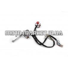 Блоки кнопок руля (пара)   Zongshen ZS50F   (чоппер, хром)   XVP