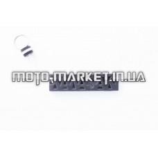 Брелок каучук   (серо-белый)   KAWASAKI   AS