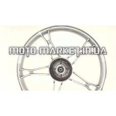 Диск колеса   1,2 * 17   (перед, барабан)   (легкосплавный)   Delta   (черный)  EVO