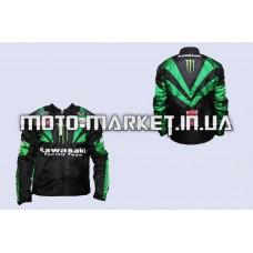 Мотокуртка   KAWASAKI   (текстиль) (size:XL, MONSTER ENERGY)