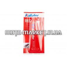 Герметик   85г   (красный, высокотемпературный)   KAFUTER