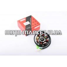 Статор генератора   4T GY6 125/150   (7+1 катушек)   STAR
