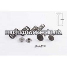 Клапаны (пара, в сборе)   Delta 125   (L-65mm)   HEADER-260