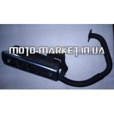 Глушитель   Honda DIO AF18/27   (плоский)   EVO