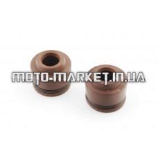 Сальники клапанов (пара)   4T GY6 50   SUNY