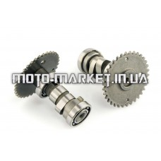Распредвал ГРМ   4T GY6 125/150   (+звезда)   MANLE