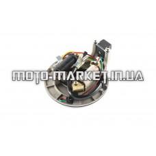 Статор генератора   Delta   (1+1 катушек) (безстартерный мопед)   HORZA