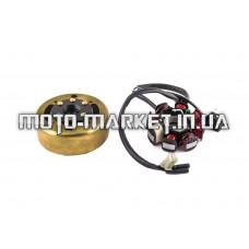 Генератор   4T GY6 125/150   (7+1 катушка)   ZV