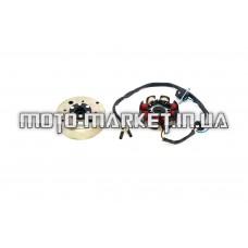 Генератор   4T GY6 50   (6+2 катушка)   ZV