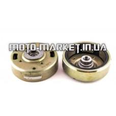 Магнит генератора (ротор)   Honda DIO AF27, TACT 16, LEAD   (под две шпонки)   PLT