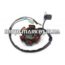 Статор генератора   4T GY6 125/150   (5+1 катушек)   ST