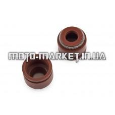 Сальники клапанов (пара)   4T GY6 125/150   PLT