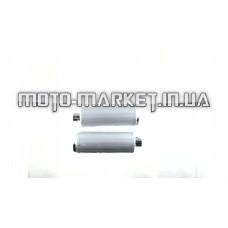 Глушитель   4T GY6 50    (без колена) длина 36,5 см  EVO