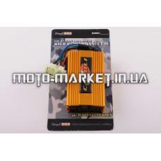 Коммутатор (тюнинг)   4Т GY6 125/150   (золотистый)   STAGE-9