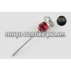 Щуп масла   Ø19.0mm, L-137mm   (+датчик температуры)   (красный)   RIDE IT