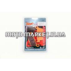 Колодки тормозные (диск)   Honda LEAD AF20   YONGLI PRO