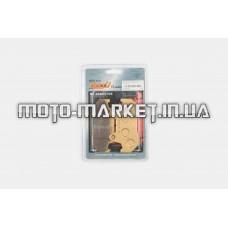 Колодки тормозные (диск)   Honda CB125   (желтые)   YONGLI