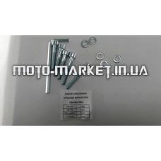 Болты крышки вариатора   Honda DIO AF18/27   (шестигранный шлиц, 5шт)   SHUK