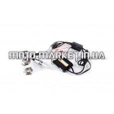 Биксенон (мото) H6 DC 8000K slim   AMG