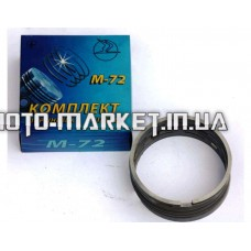 Кольца   МТ, К-750, УРАЛ   STD   (Ø78,00) (М-72) (8 шт. комплект)   ЛЕБЕДИН   (#MVR)