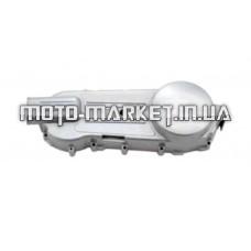 Крышка вариатора   4T GY6 125/150   (10/12 колесо, 152QMI, 157QMJ)   (хром)   ST