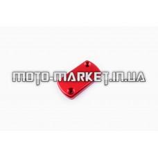 Крышка ГТЦ (стайлинговая)   (mod:2, красная)   RIDE IT