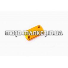 Крышка ГТЦ (стайлинговая)   (mod:2, желтая)   RIDE IT