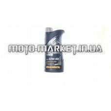 Масло автомобильное, 1л   (SAE 10W-40, полусинтетика, Molibden Benzin API SL/CF)   MANNOL
