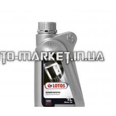 Масло автомобильное, 1л   (SAE 10W-40, полусинтетика, MOTOR SEMISYNTETIC SL/CF)   LOTOS   (#GPL)