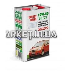 Масло автомобильное 4л   (полусинтетика, 10W-40SL/SF, Atomic Oil, Energy Drive)   (20244)   ХАДО