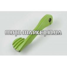 Ножка кикстартера универсальная   (стайлинговая) (зеленая)   RIDE IT   (mod:4)
