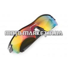 Очки спортивные   KML   (серые, прозрачные стекла) (mod:WL-0003)