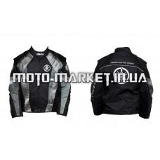Мотокуртка   YMH   (текстиль) (mod:Racing, size:L, серая)