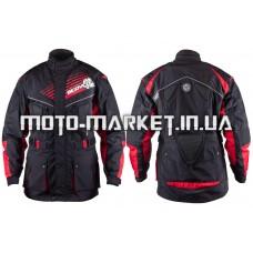 Мотокуртка   SCOYCO   (текстиль) (size:XL, черная, mod:JK35)