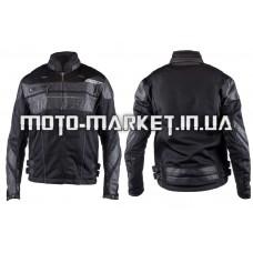 Мотокуртка   SCOYCO   (текстиль) (size:M, черная, mod:JK)