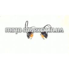 Повороты   Zongshen RACE 3   (передние, пара)   (темное стекло)   EVO