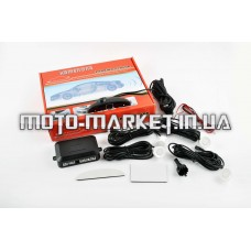 Парктроник    mod:LH-811B   (датчики белые 4шт, LCD, штурман, монтажный комплект)   KAMEILONG