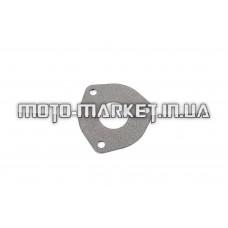 Прокладка глушителя   4T GY6 50-150   (треугольная, колено - резонатор)   KOMATCU