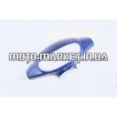 Пластик   Zongshen WIND   передний (голова)   (синий)   KOMATCU