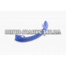 Пластик   Zongshen WIND   задний декоративный   (синий)   KOMATCU