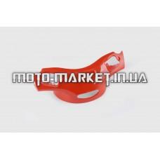 Пластик   Zongshen GRAND PRIX   передний (голова)   (красная)   KOMATCU