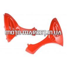 Пластик   Zongshen GRAND PRIX   передний (подклювник)   (красный)   KOMATCU